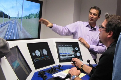 Training with a simulator