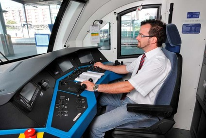 Driver of a locomotive