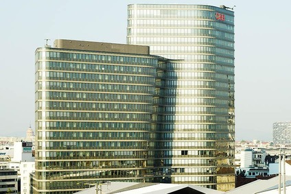 ÖBB Group headquarters at the main station