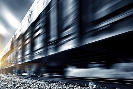Güterzug in Fahrt