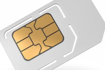 Abbildung einer SIM-Karte