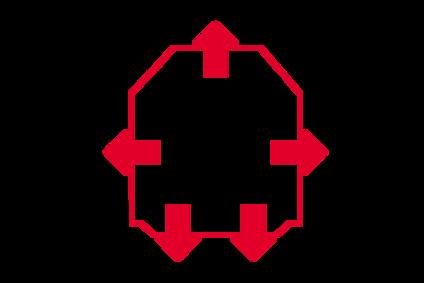 Skizze eines Lichtraumprofils