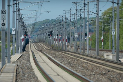 Double rail track