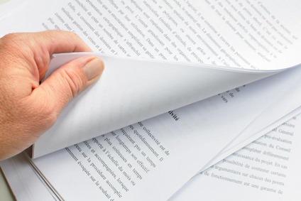 Mehrere Seiten von einem Dokument