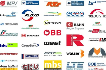 Collage of rail companies