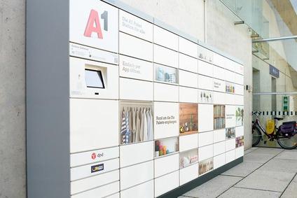 Abbildung einer A1 Paketstation