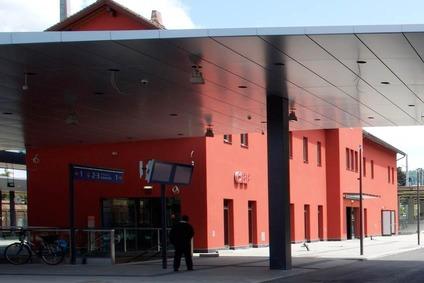 Bahnhofgebäude in Dornbirn