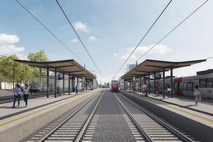 Bahnsteige Ternitz