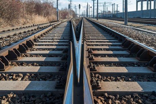 Weichenherz und Gleise