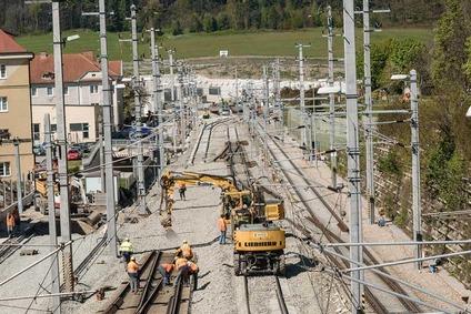 Preparatory work in Gloggnitz
