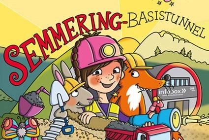 Wimmelbuch Semmering Baistunnel.