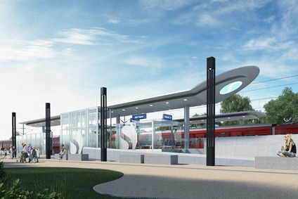 The new station Bad Vigaun will be barrierfree, safe and modern