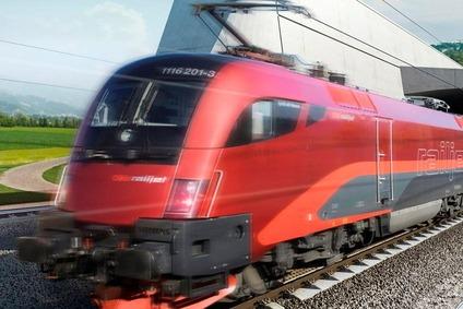 Railjet in Fahrt