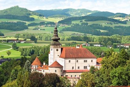 Schloss Weinberg bei Kefermarkt im Mühlviertel
