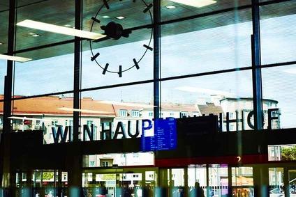 Eingang Wiener Hauptbahnhof
