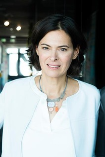 Portrait of the management board member Silvia Angelo