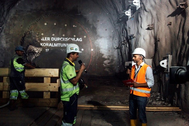 Finaler Tunneldurchschlag am 17. Juni
