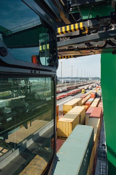 Auf diesem Foto ist das Güterzentrum Wien Süd zu sehen.