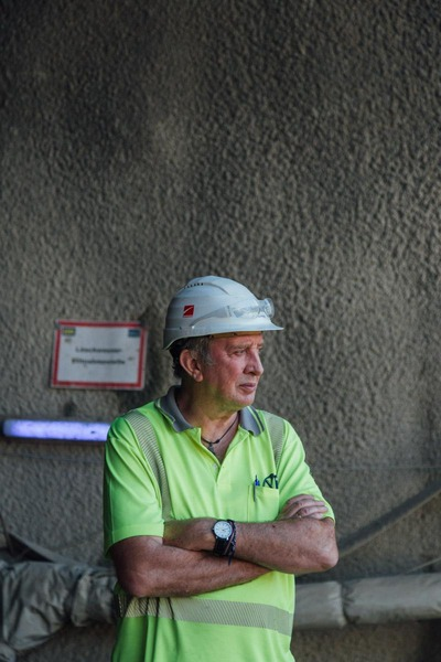 This picture shows a construction worker.
