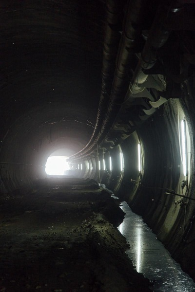 This picture shows a tunnel tube.