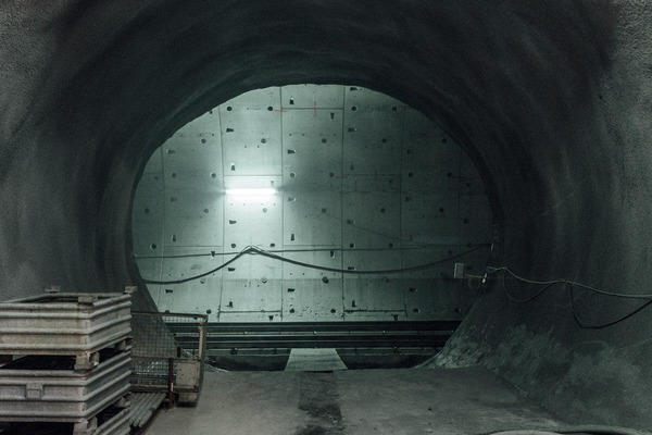 This picture shows a tunnel bay.