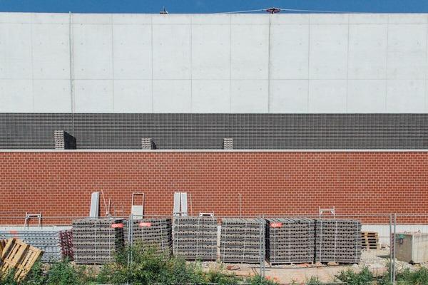 Remote view brick wall