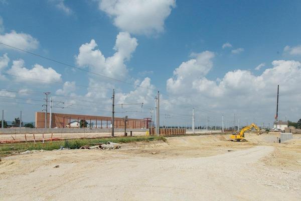 entire construction site