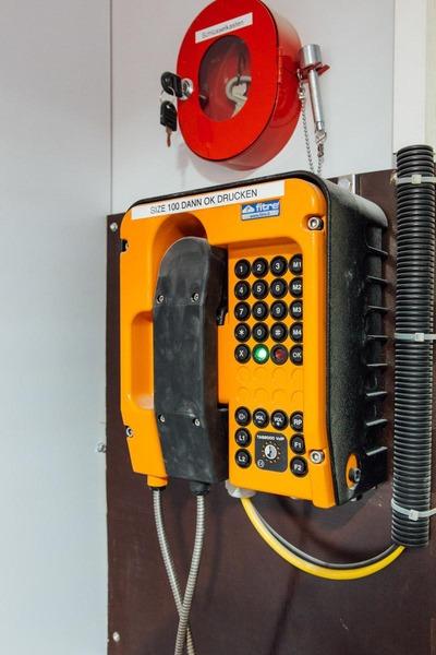 Bauarbeitertelefon