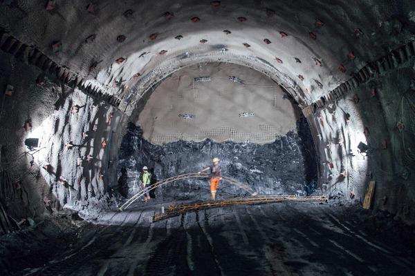 Tunnelarbeiten