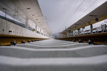 Der Bahnhof Mürzzuschlag erhält neue Gleise