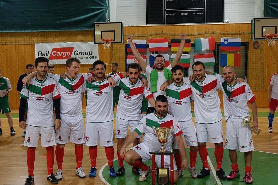 Das Gewinner: Italien / The winners: Italy