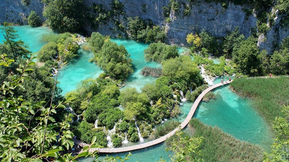 Plitvicer Seen UNESCO Weltnaturerbe in Kroatien