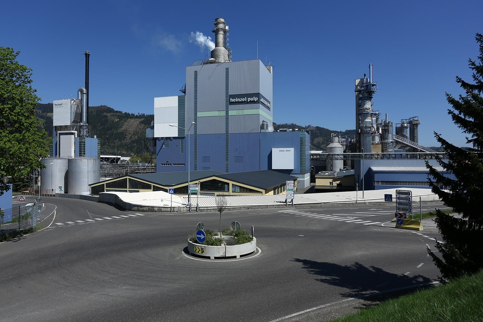 Zentrale der Zellstoff Pöls AG