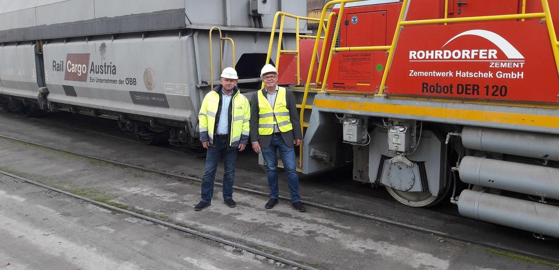 Franz Pertl (Rohrdorfer) und Michael Fellier (RCG)