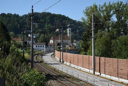 Brückeneinschub Wernstein