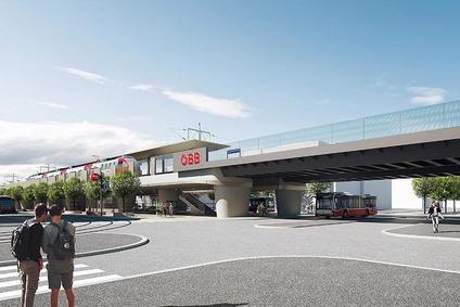 Visualisierung der Station Hietzinger Hauptstraße