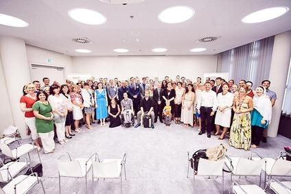 Gruppenfoto Teilnehmer Diverstiy Award 2017