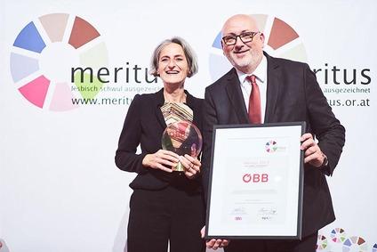 Traude Kogoj und VD Matthä erhielten Preis