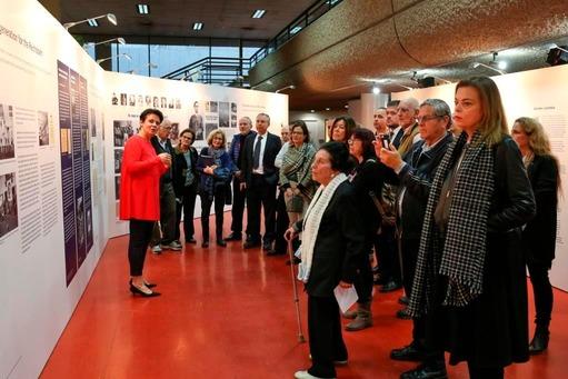 Impressionen zum Abschluss der Themenausstellung