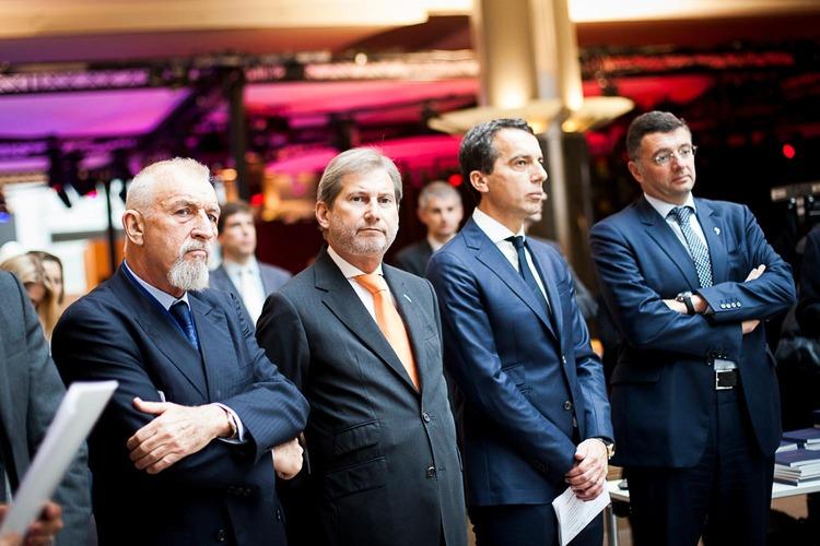 Eröffnung Ausstellung im Europäischen Parlament in Brüssel