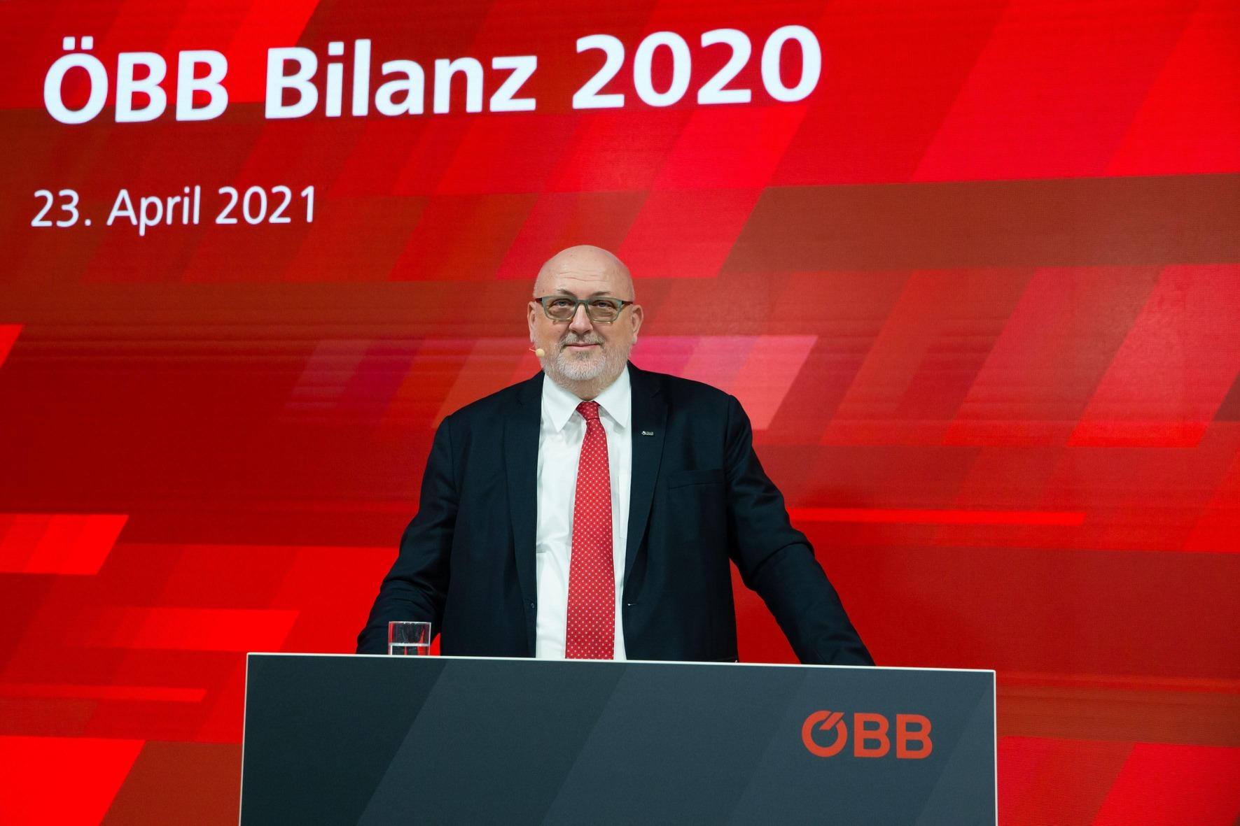 ÖBB CEO Andreas Matthä, Bilanz Pressekonferenz