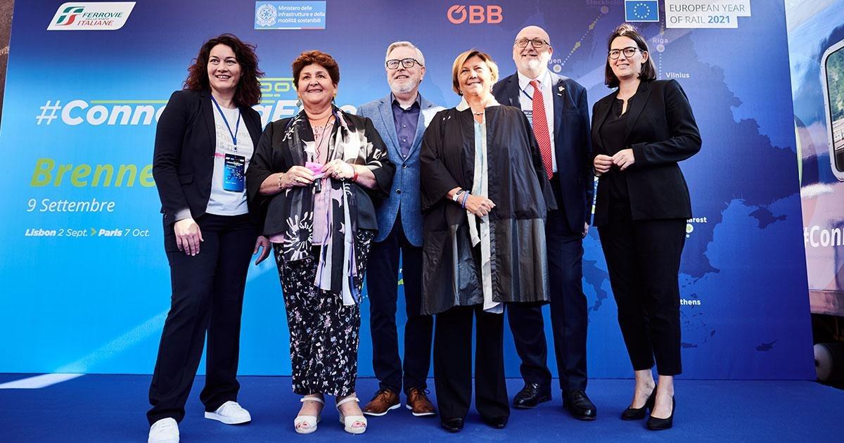 """ÖBB sind auch im """"Europäischen Jahr der Schiene"""" verlässlicher Partner für die Entlastung vom Transitverkehr"""
