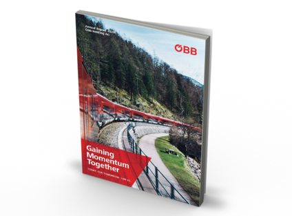 Graphic Publication ÖBB Annual Report2020