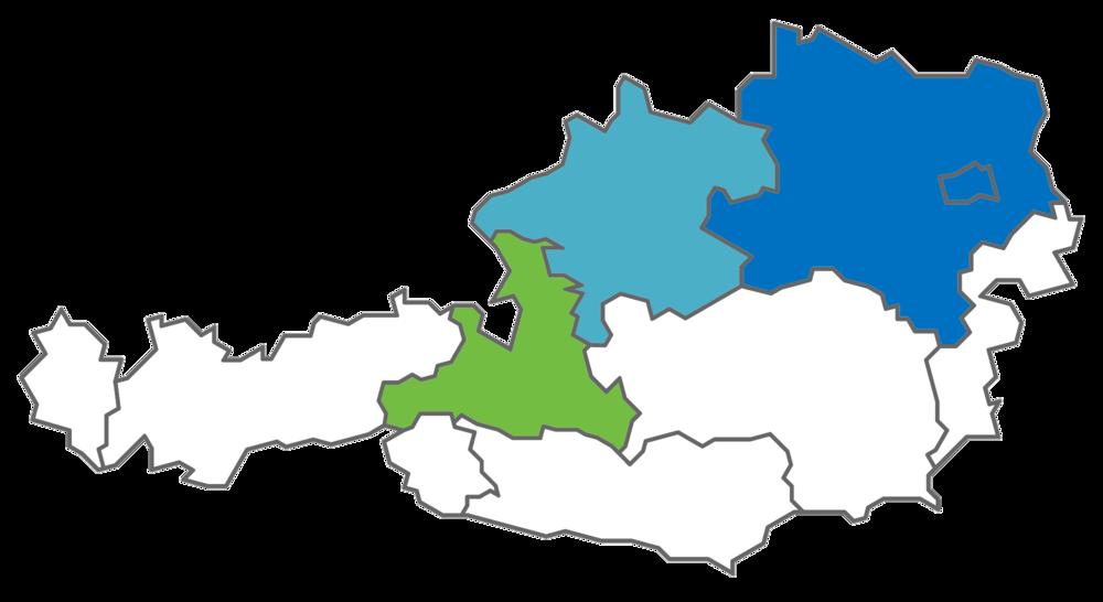 Österreichkarte Basis