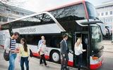 Intercitybus Einstieg
