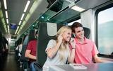 Railjet Jugendliche in Economy Class