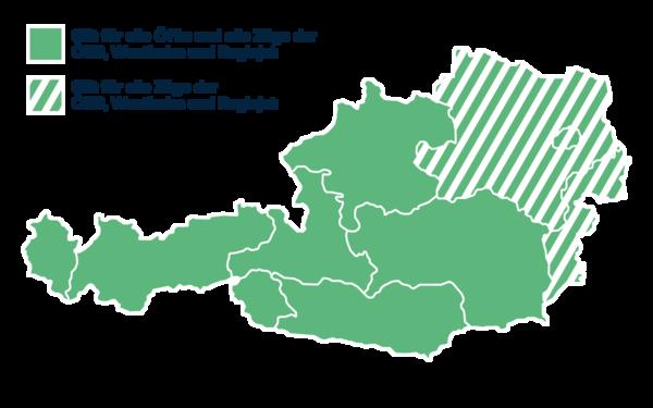 Klimaticket Karte Österreich Deutsch