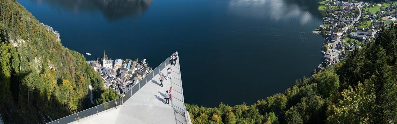 Sicht auf den Hallstätter See