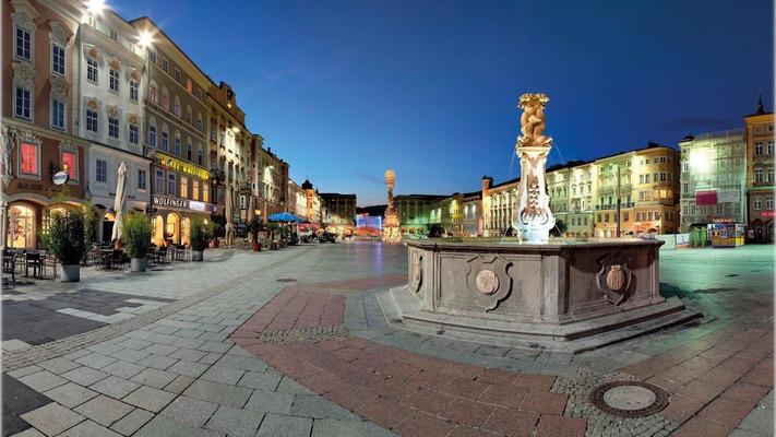 Hauptlatz in Linz