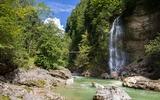 Wasserfall in der Tiefenbachklamm
